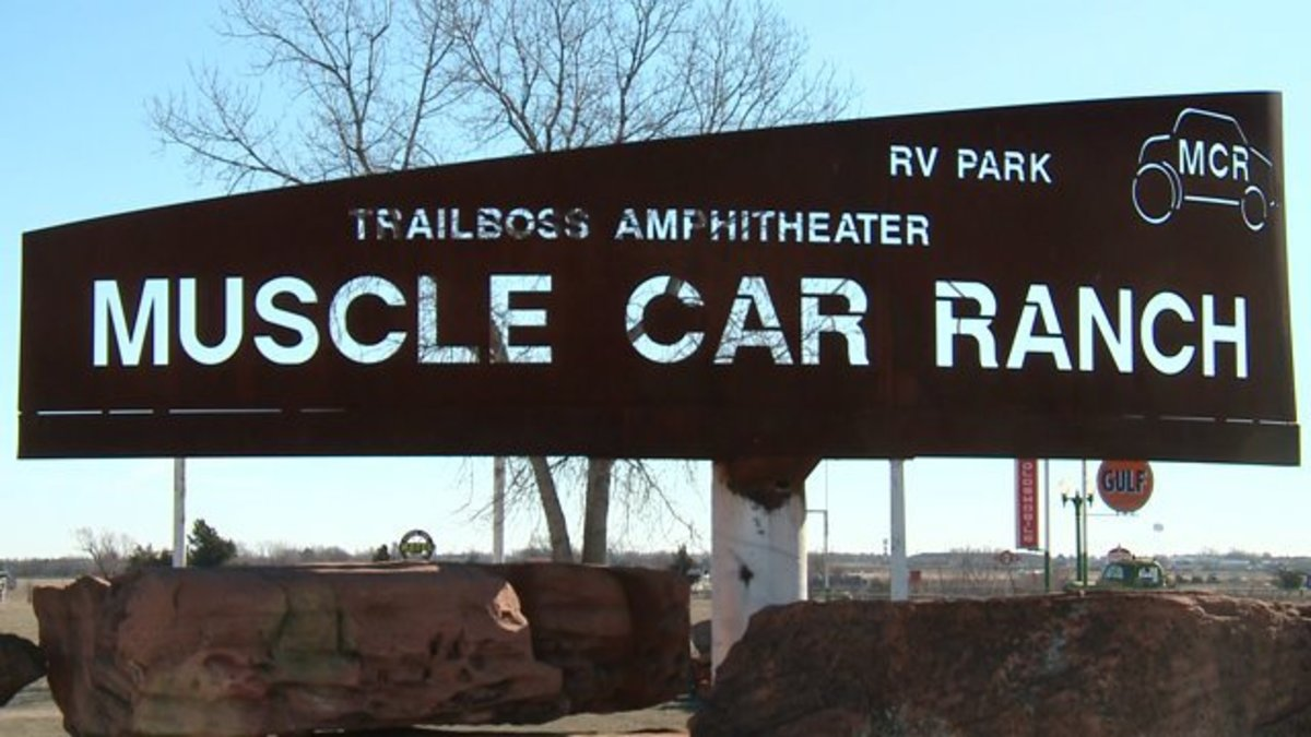 Oklahoma's Muscle Car Ranch Open Air Museum