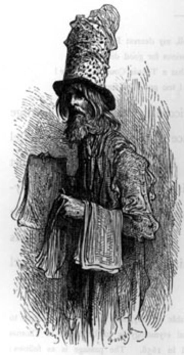 Hat Peddler (public domain)