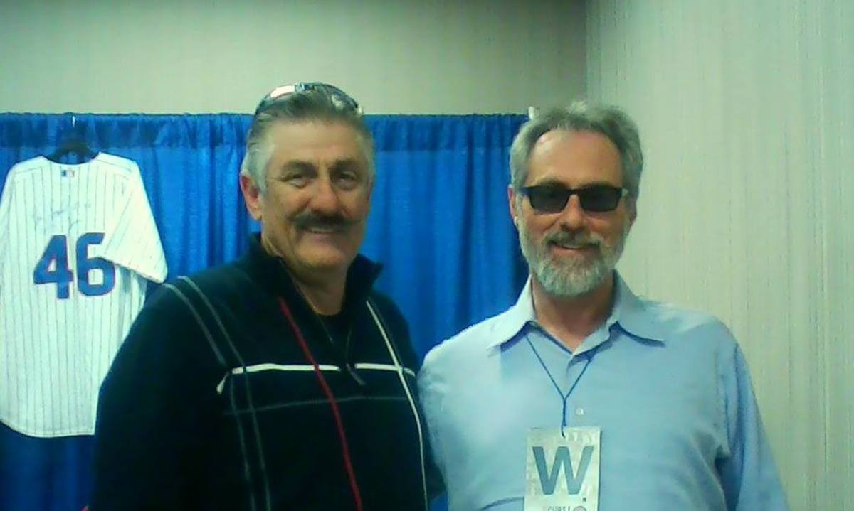 Me and Rollie Fingers