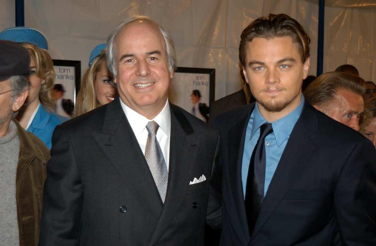 Frank Abagnale Jr. (Left) and Leonardo DiCaprio (Right)