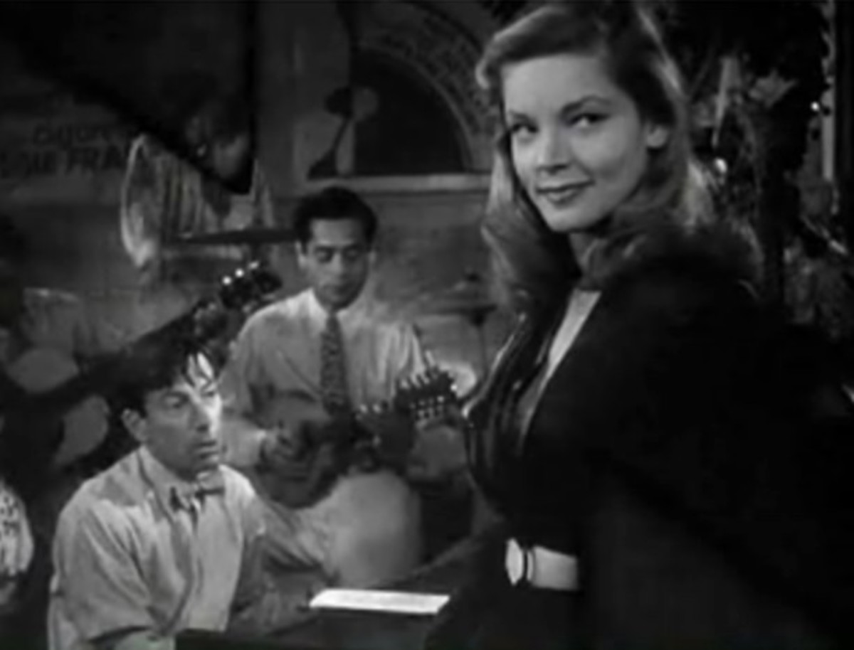 Lauren Bacall in To Have and Have Not