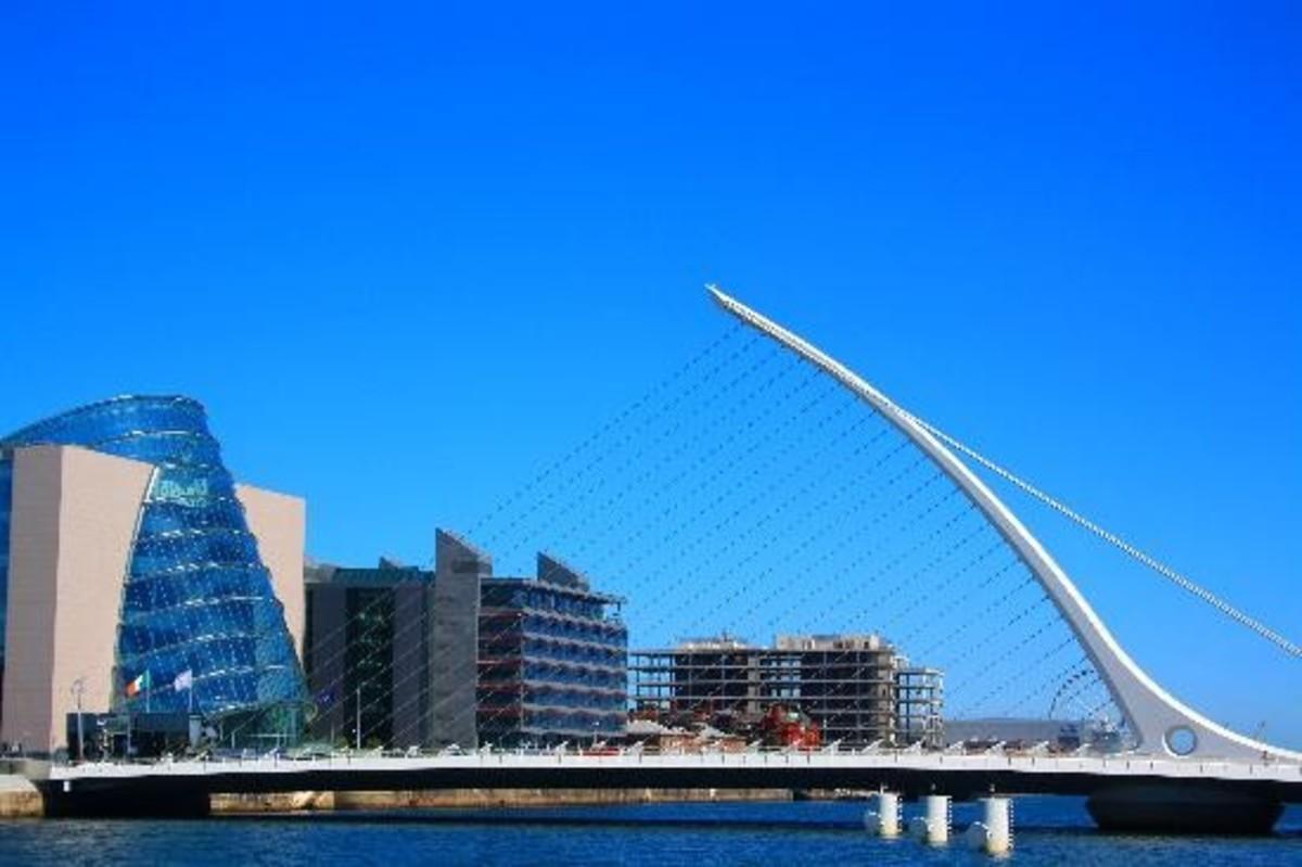 Millenium Bridge Dublin