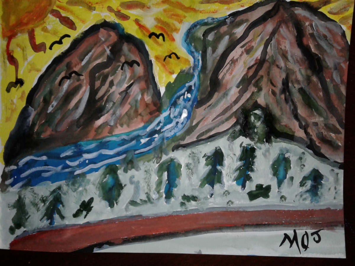 Title: The Rugged Mountain