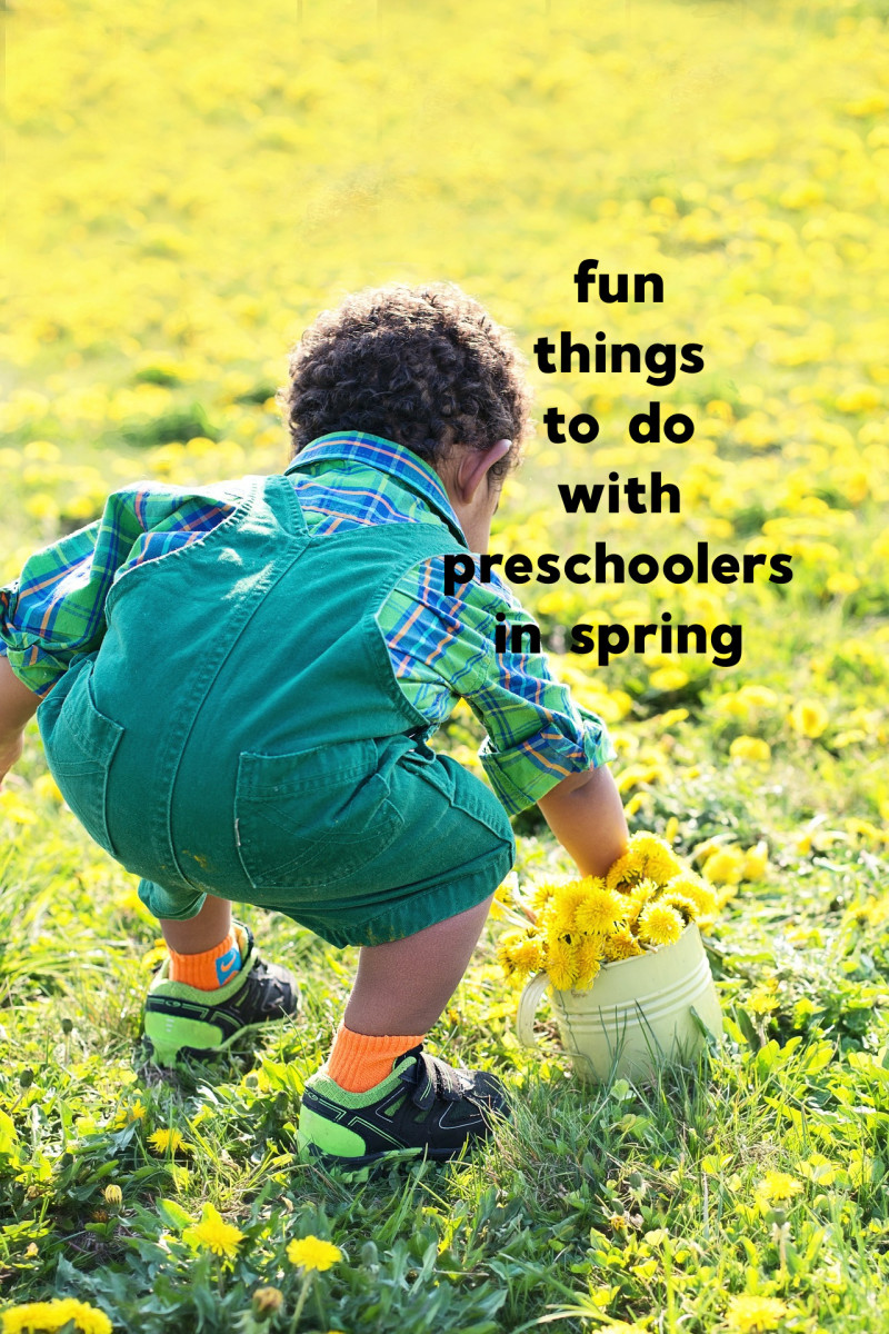 6 Fun and Free Activities to Do With Your Preschooler This Spring