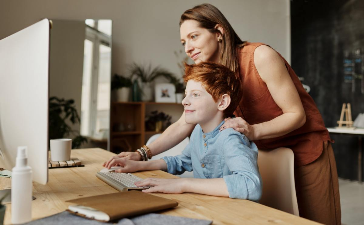 Home-based education becomes more meaningful with you as your child's learning partner.