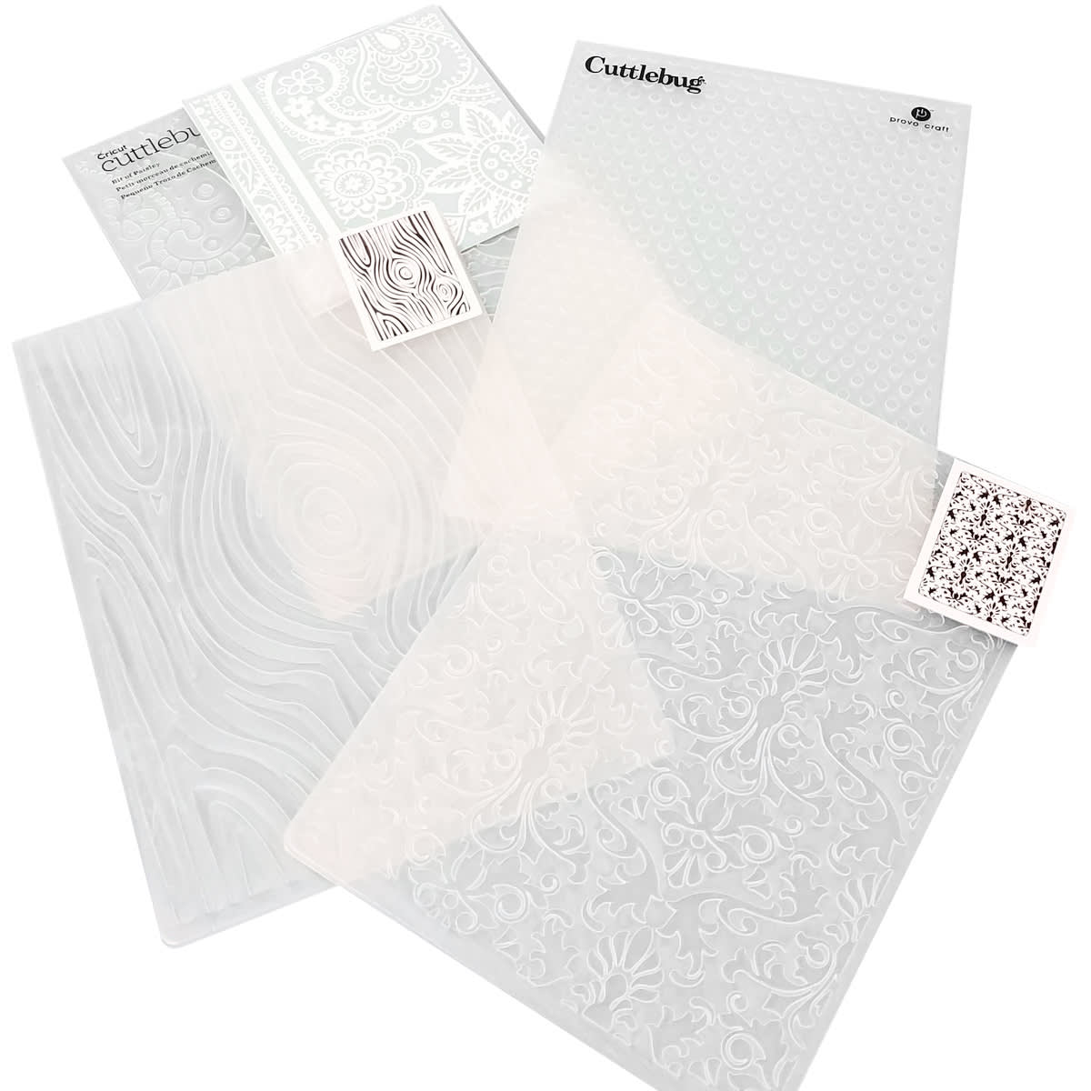 You can find embossing folders in almost any design you can think of
