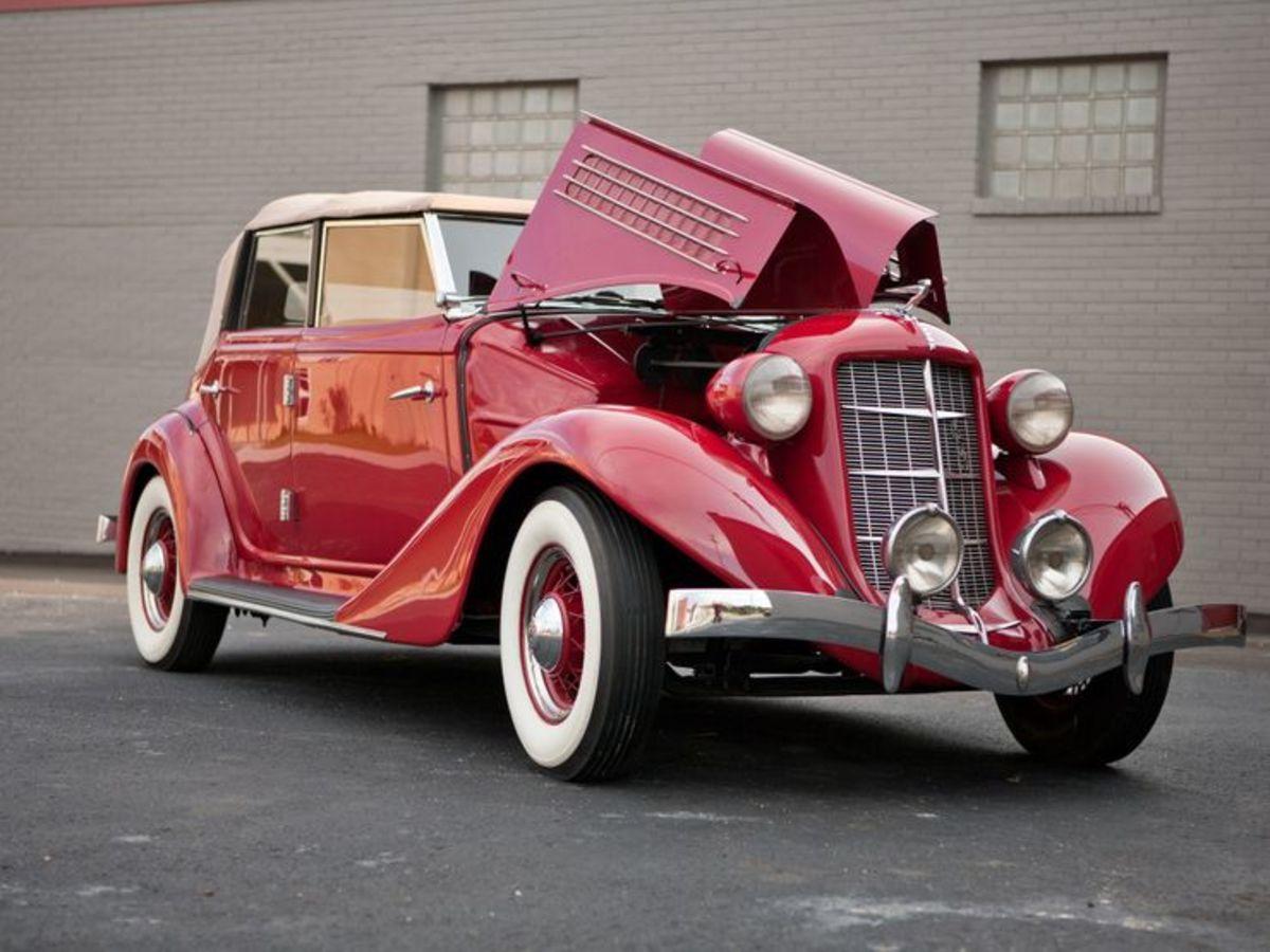 1935 Auburn Phaeton 653