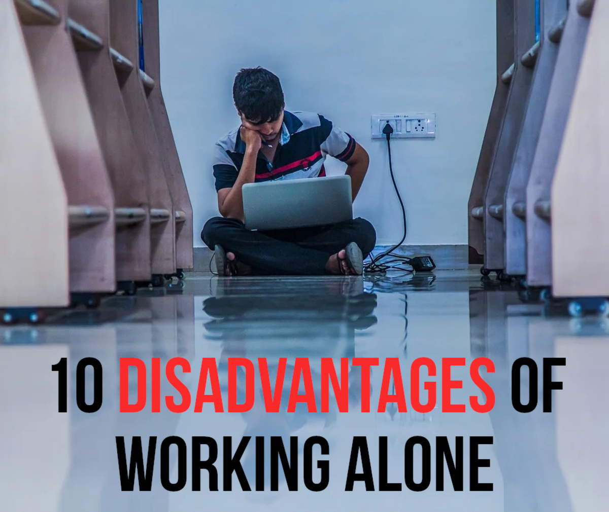 10 Disadvantages of Working Alone