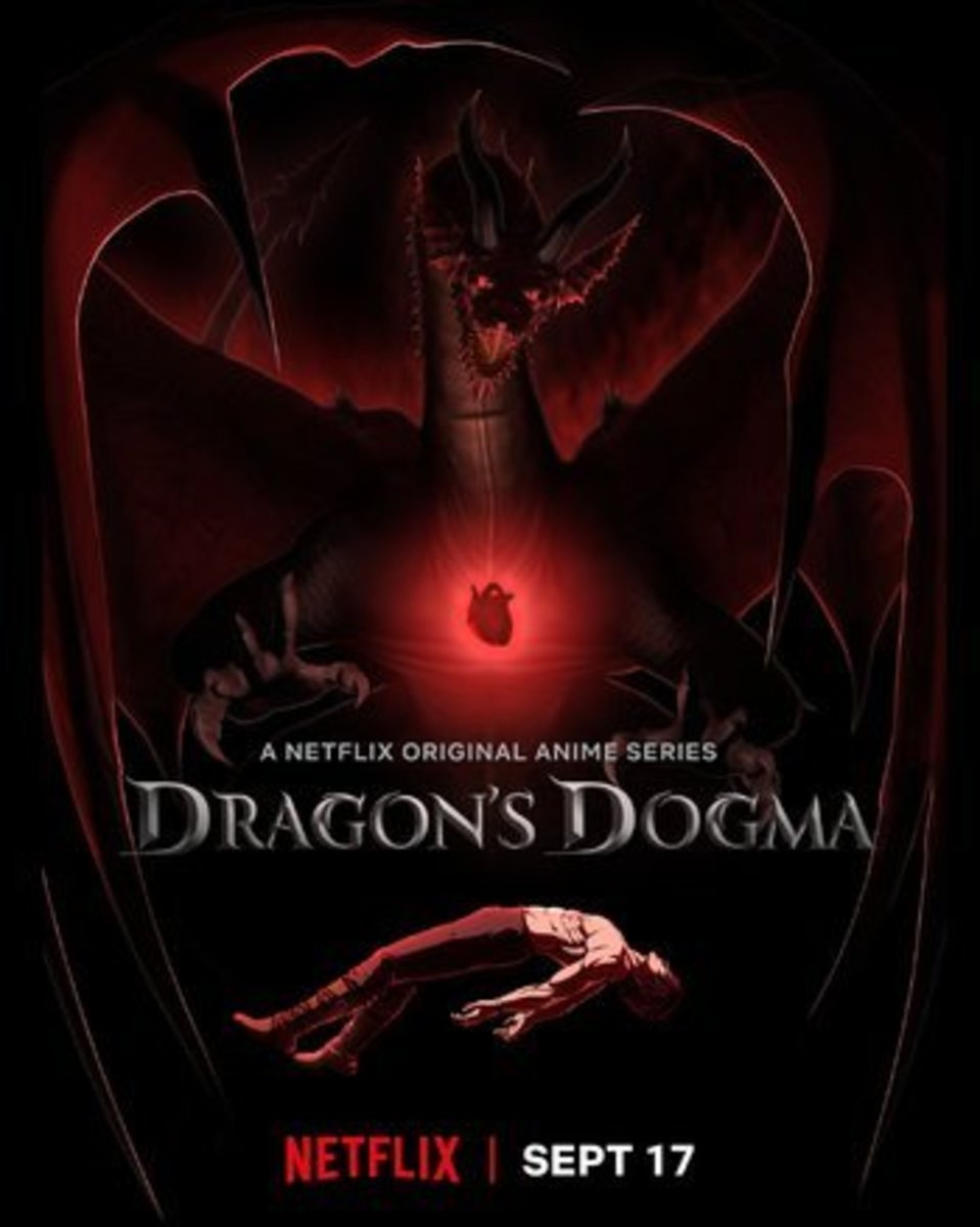 "Official poster art for ""Dragon's Dogma""."