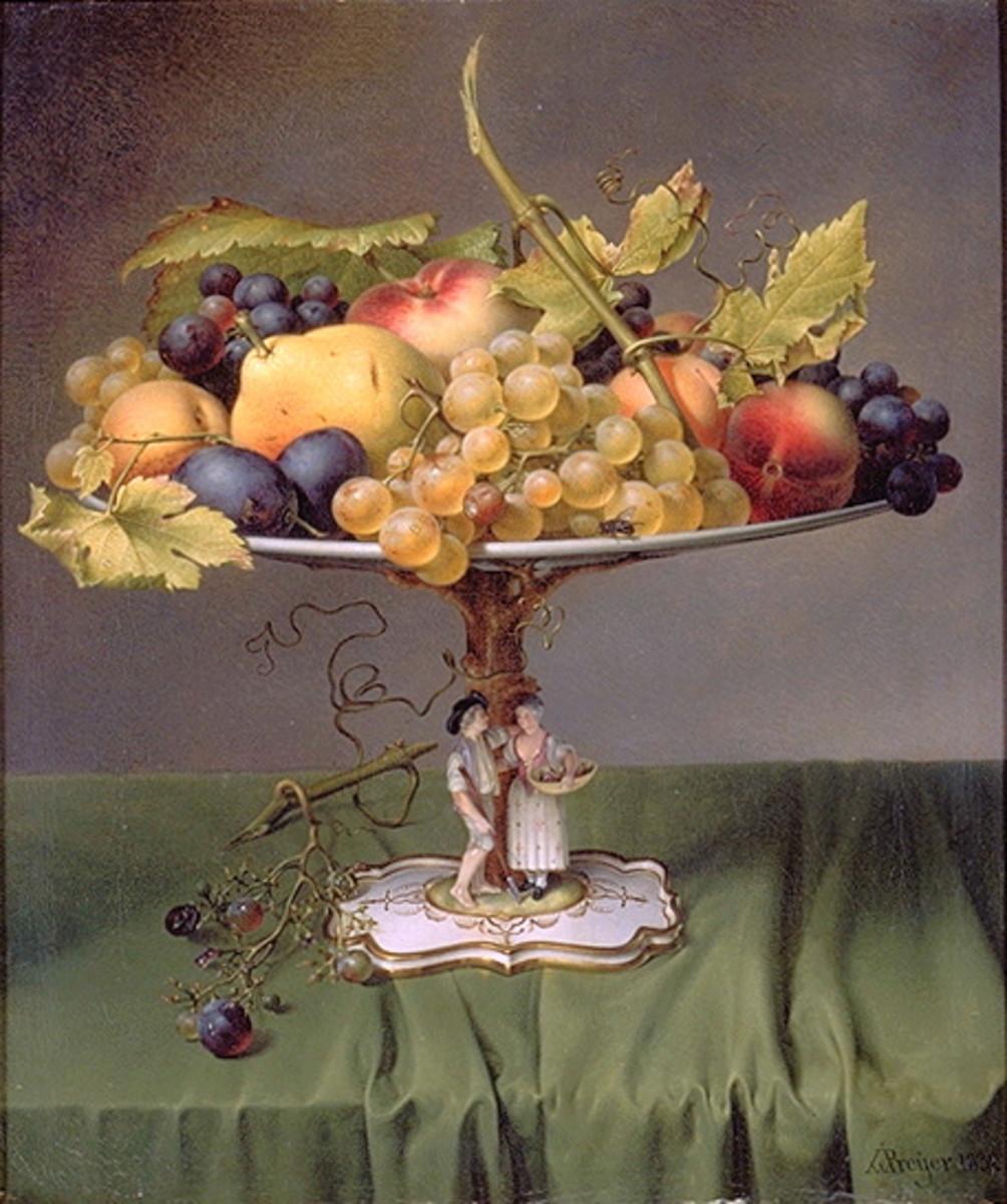 Johann Wilhelm Preyer 'Früchte'
