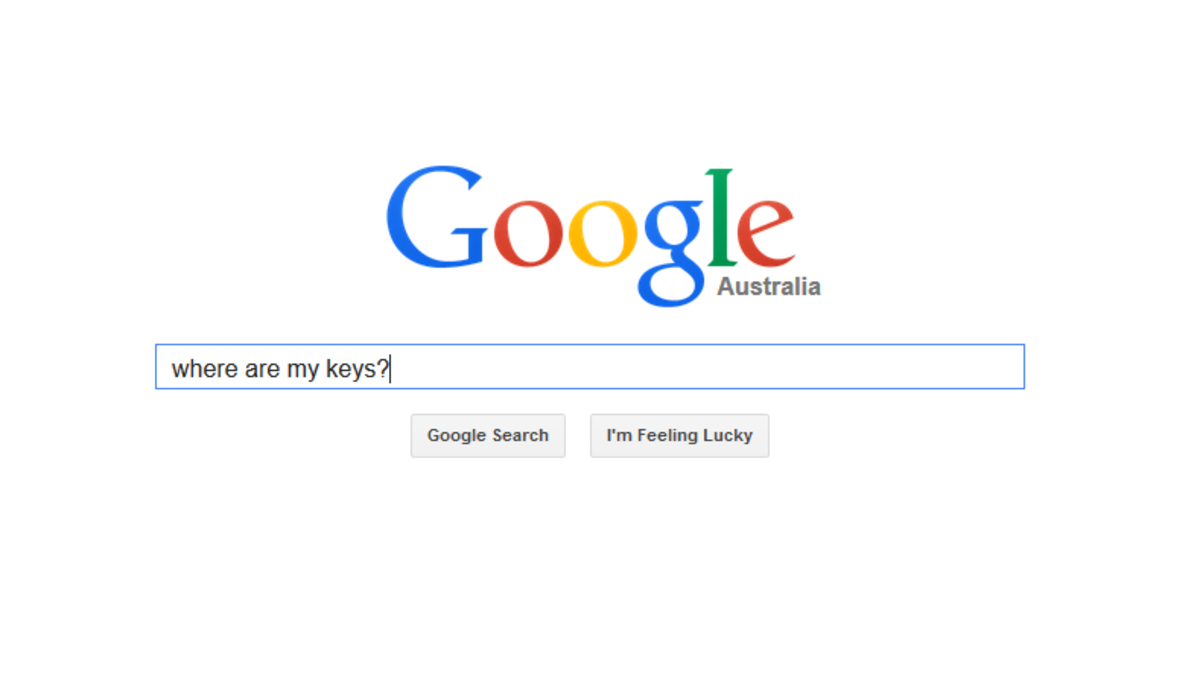 Searches like this would give you the exact location of your keys