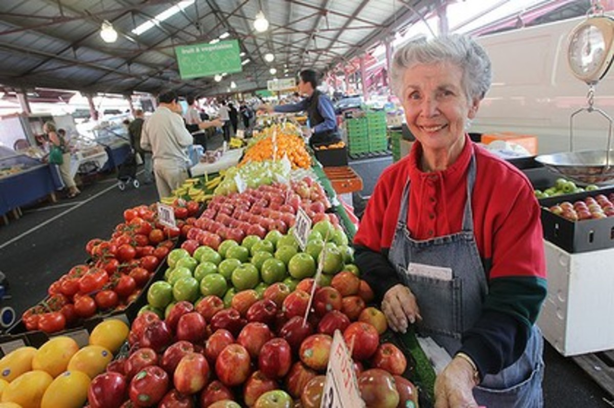 Fresh fruit at Queen Victoria Market