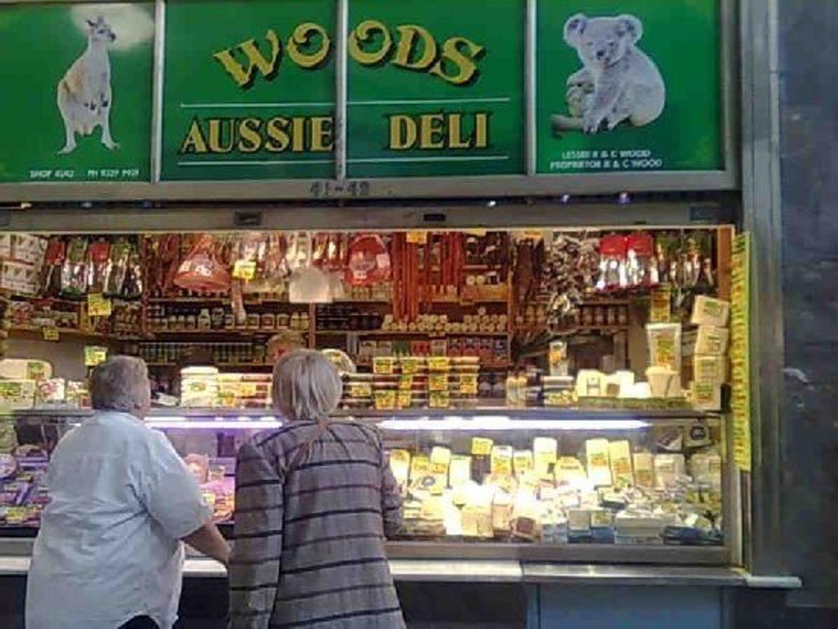 Woods Deli at Queen Vic