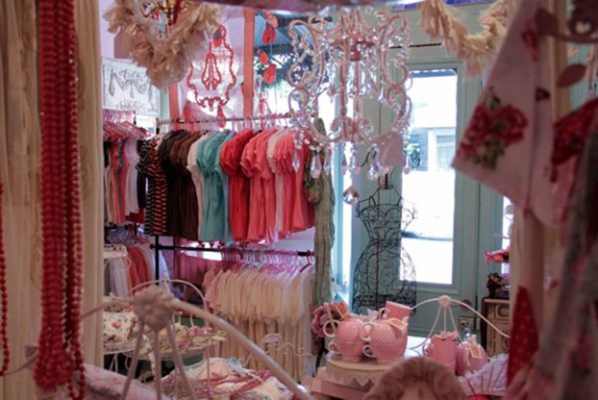 Clothing shop at the Market