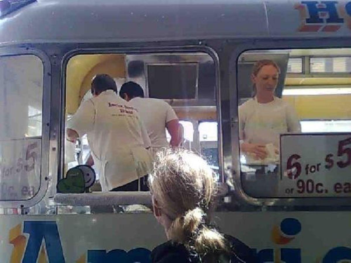Doughnut Van at the Queen Vic