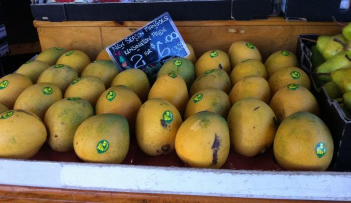 Mangoes at the Queen Vic