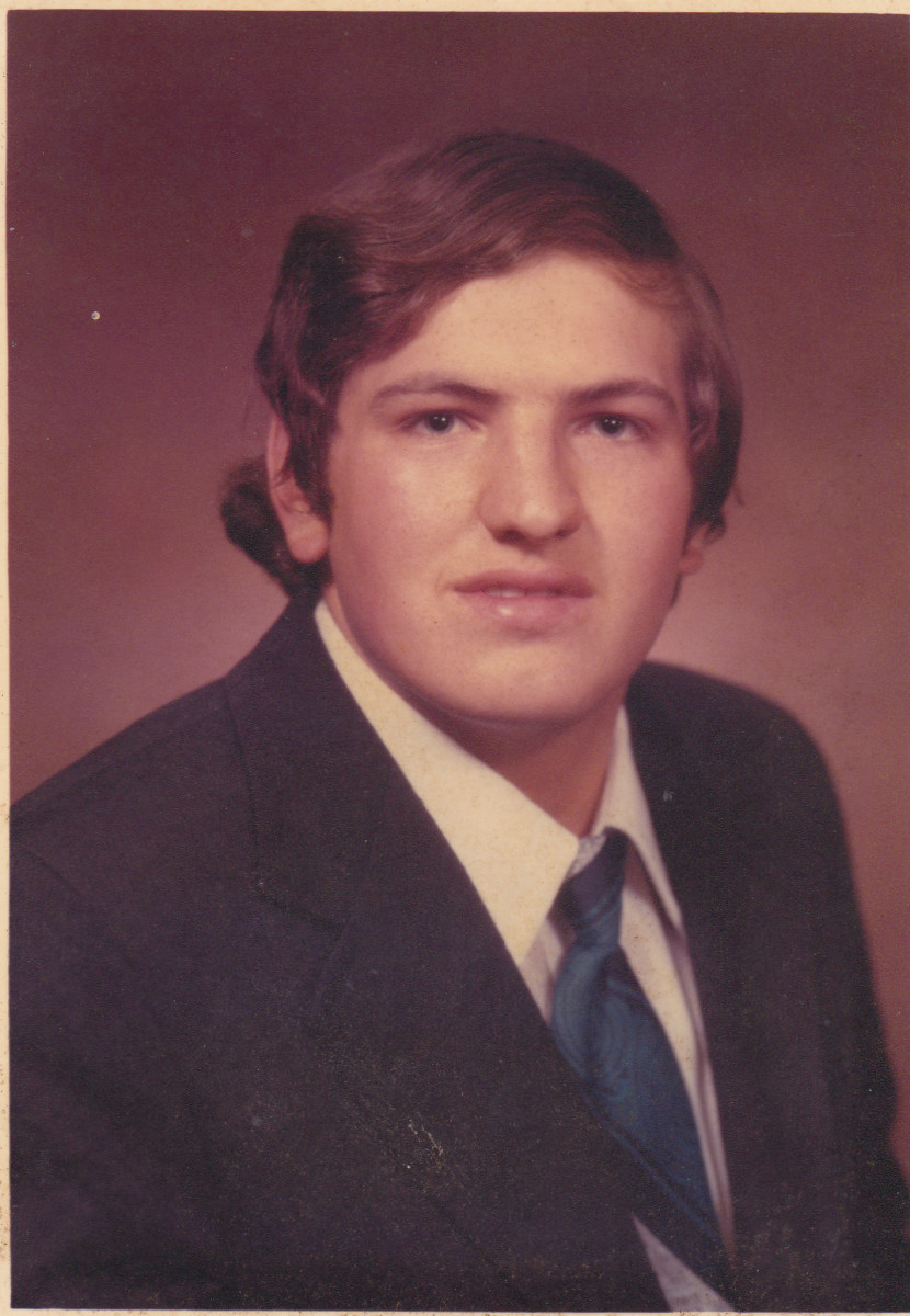 Philip's Graduation Picture in 1975.