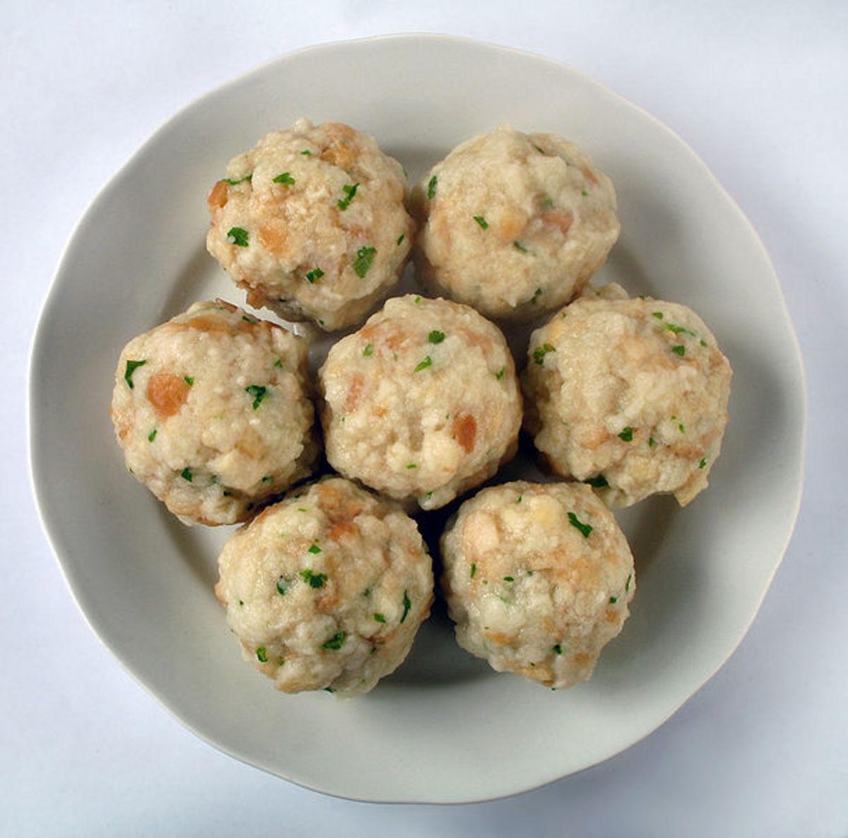 Canederli, Dumplings from Trentino - Alto Adige