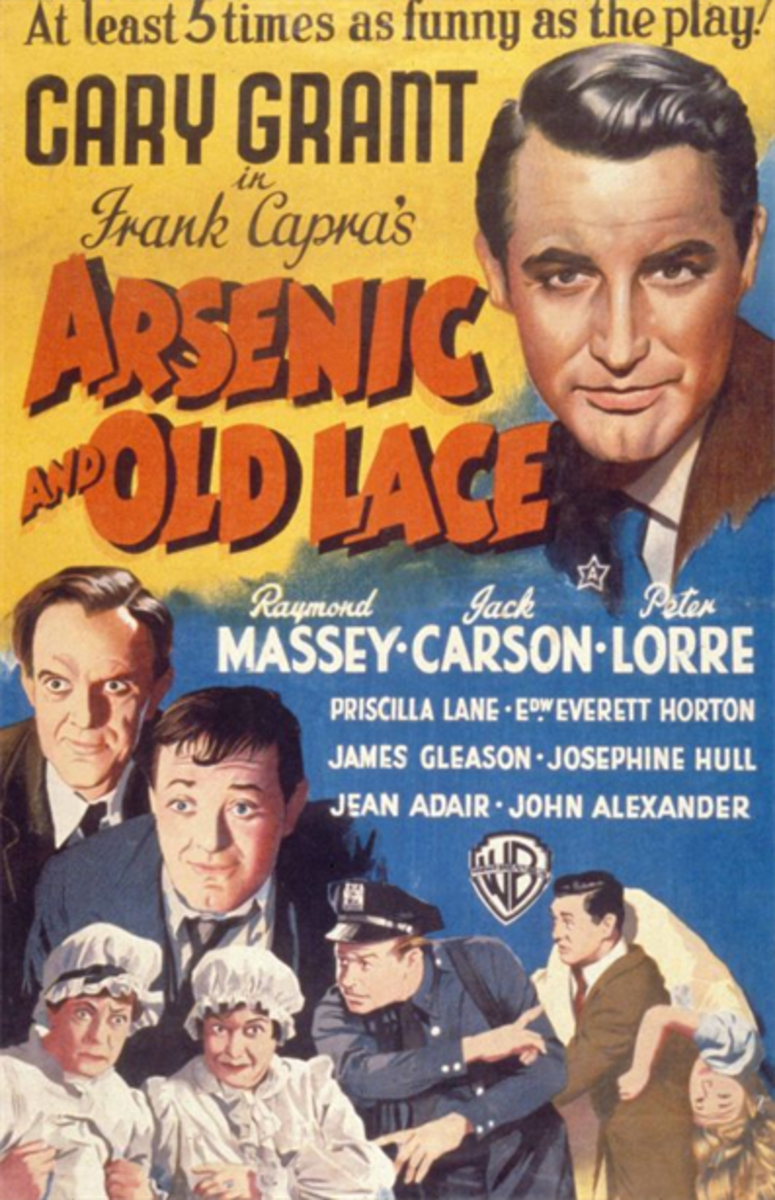 Arsenic and Old Lace - Comedy With a Little Horror Mixed In
