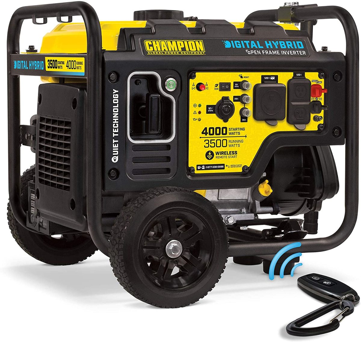 Champion 100573 4,000-Watt Dual Fuel Generator