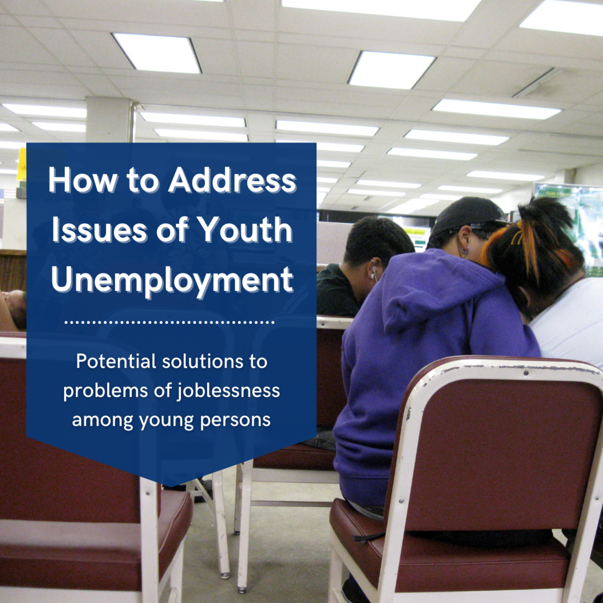 This article will take a look at the troubling problem of youth unemployment across the world and provide some solutions for what can be done about it.