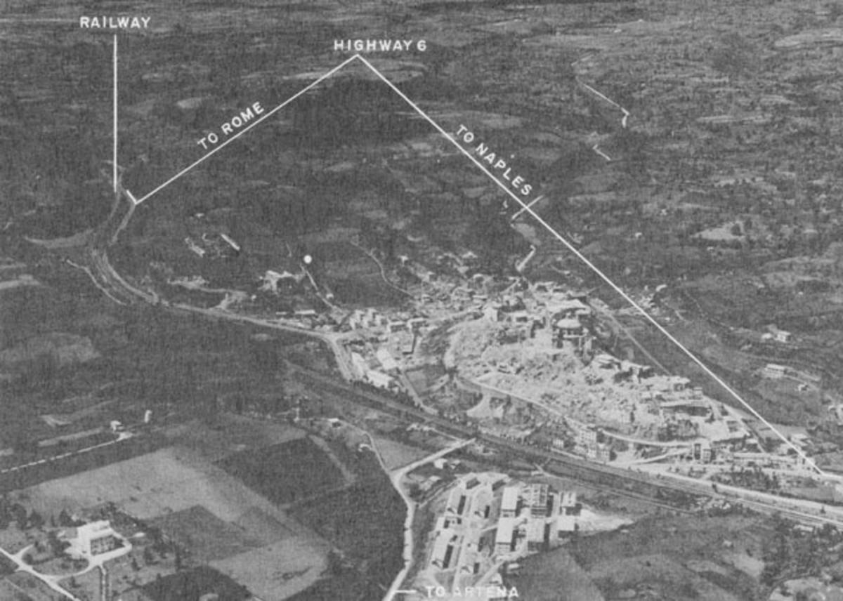 Valmontone and Highway 6
