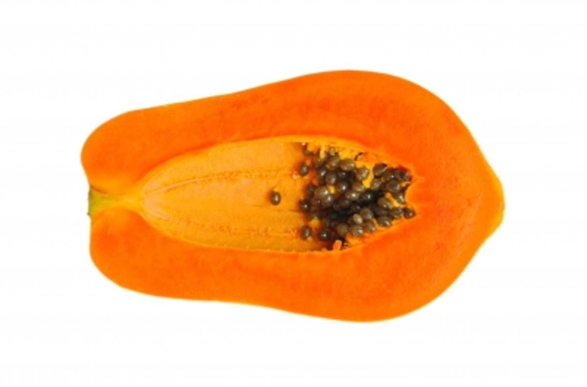 Papaya is the best home remedy for dry skin