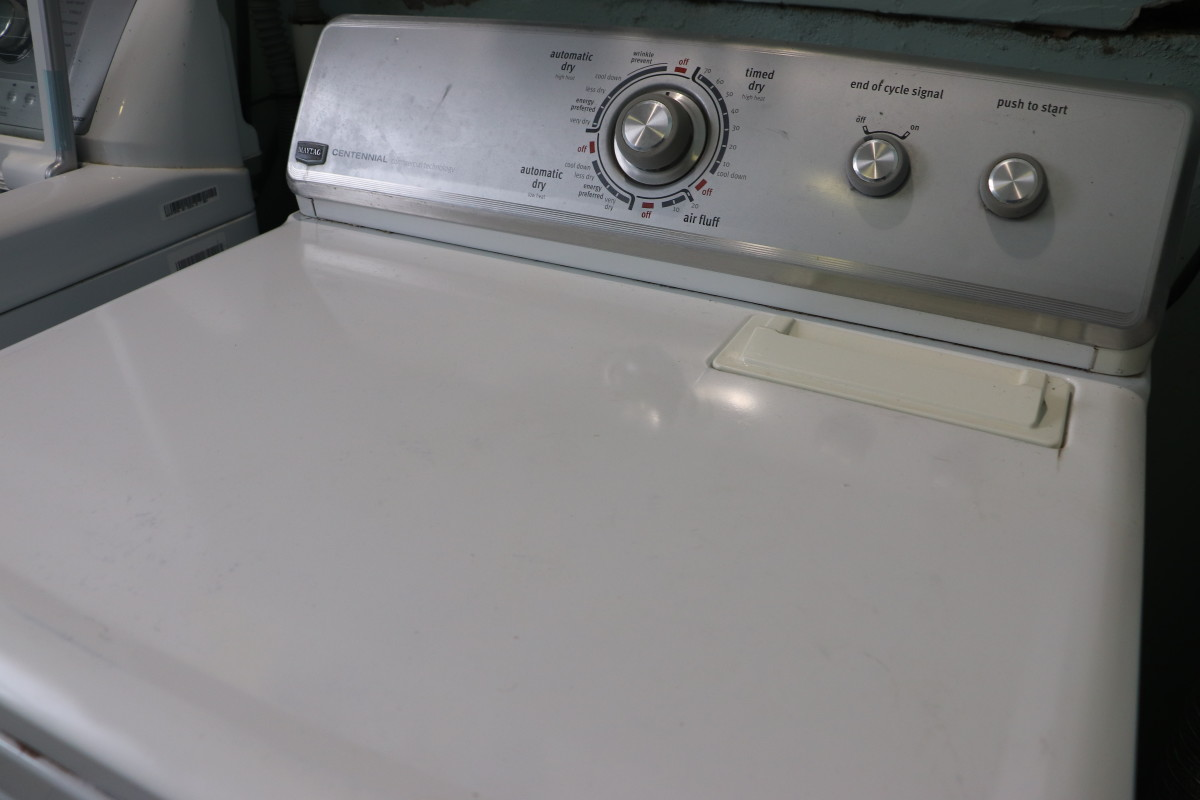 Once the paint has cured for 24 hours, use your dryer as needed and monitor on a yearly basis for the development of new rust spots. Be sure to treat rust as it arises to extend the life of your appliance!