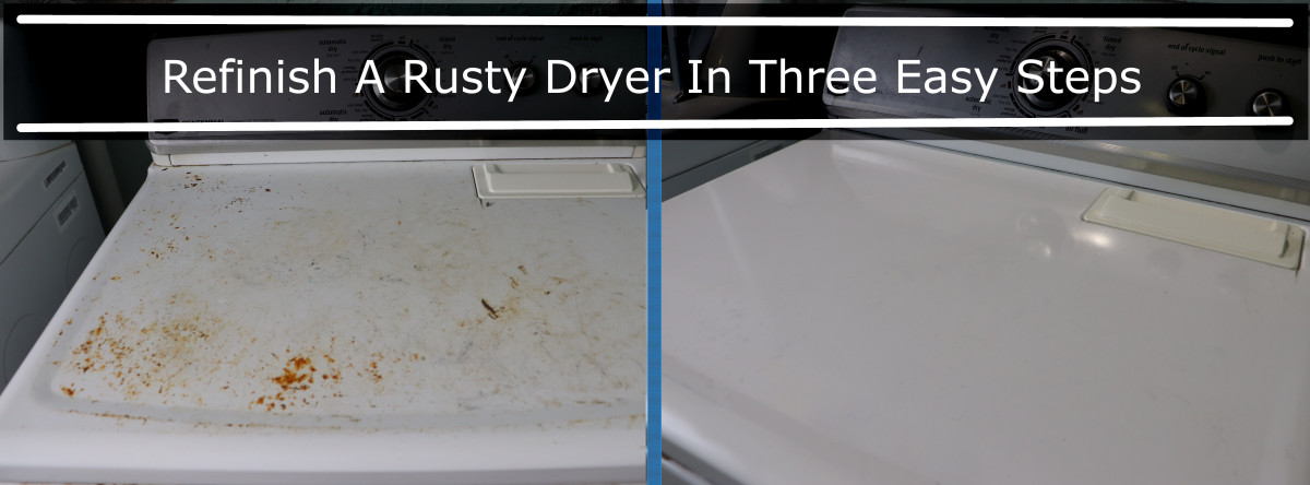 Remove rust from appliance surfaces to extend the life of the machine and make them look new again!