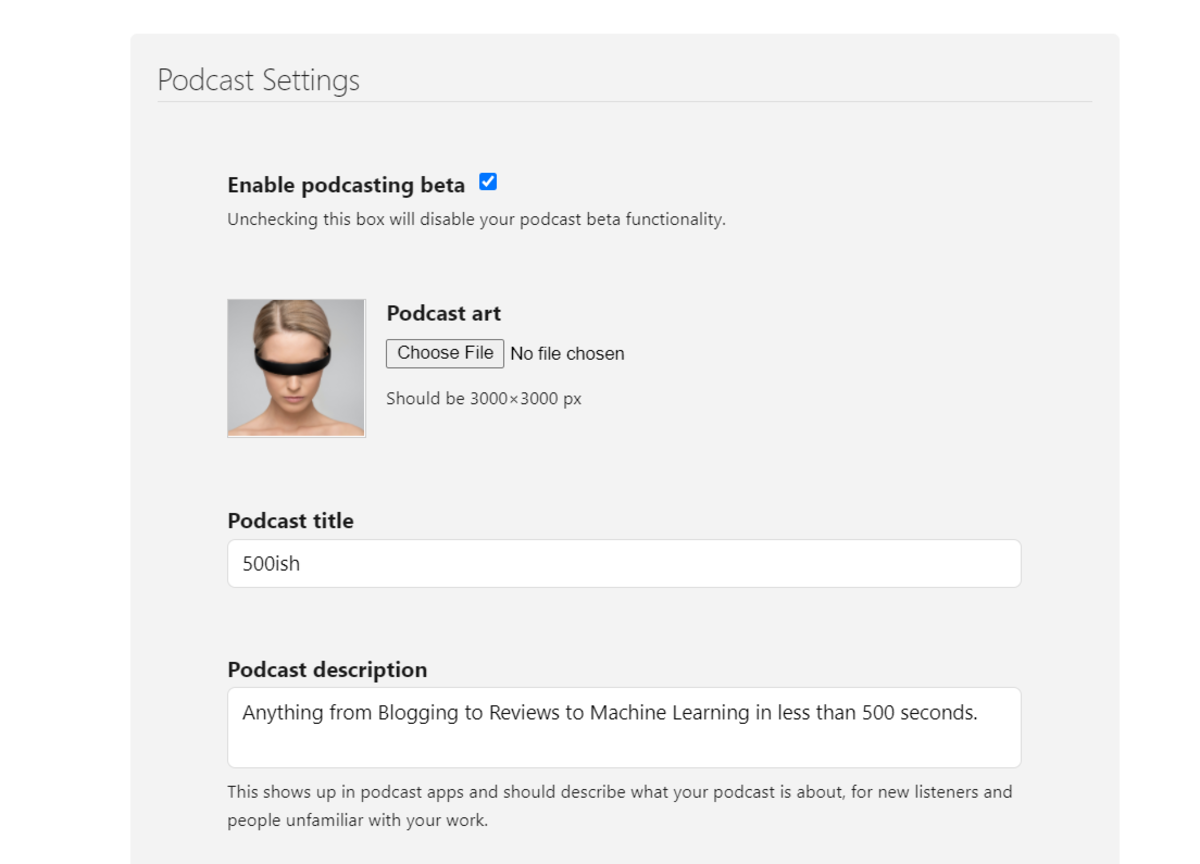Hosting Your Podcast in Substack