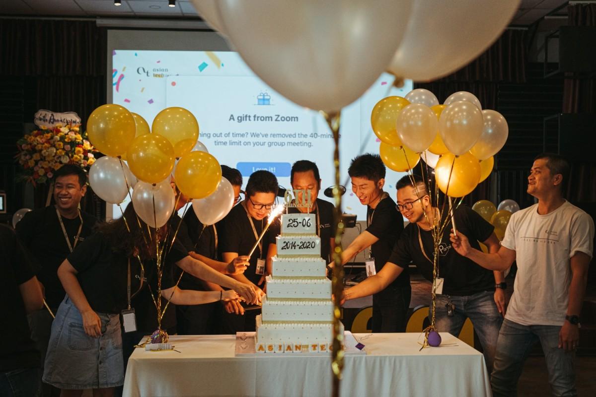 亚洲科技的第6周年纪念日