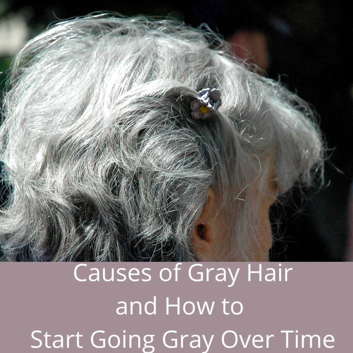 Causes of Gray Hair and How to Start Going Gray Over Time.