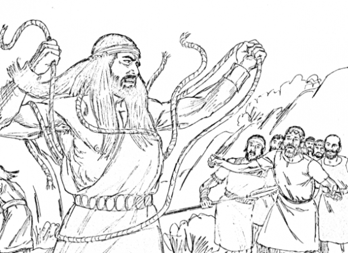 Samson Coloring Page
