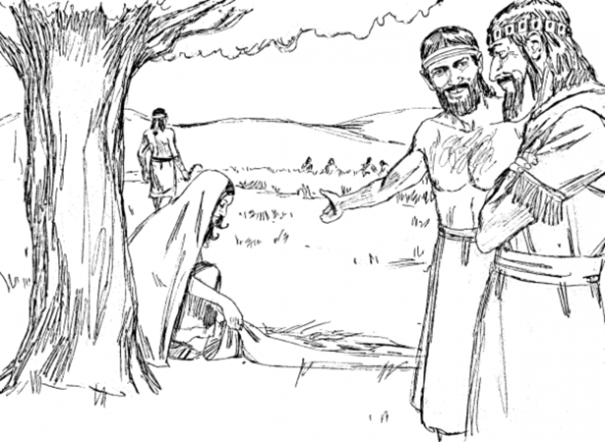 ruth gleaning coloring pages - photo#15