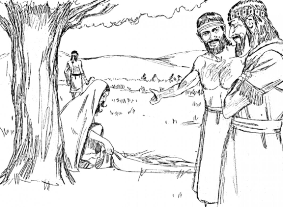 deborah bible coloring pages - photo#28
