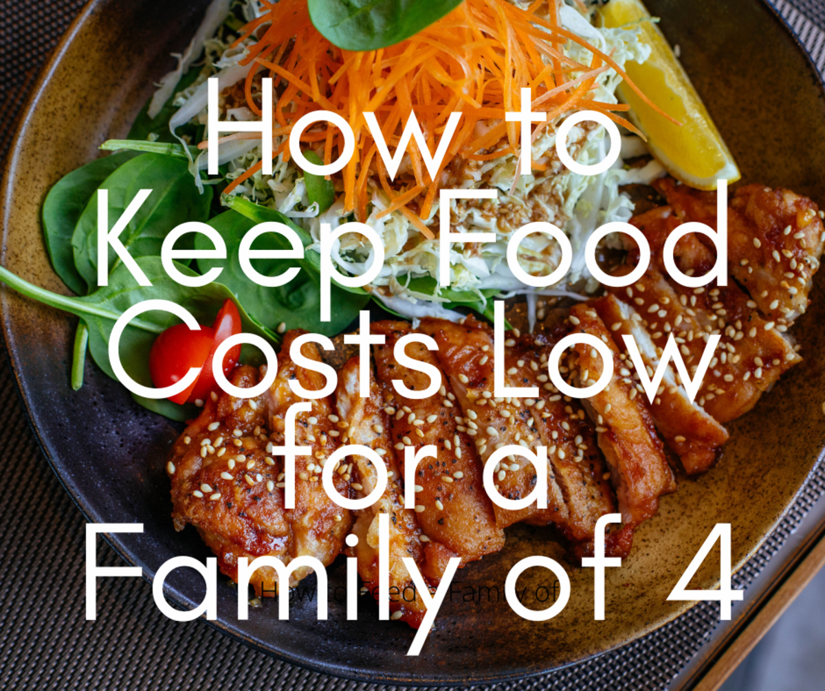 How to Keep Food Costs Low Feeding a Family of Four