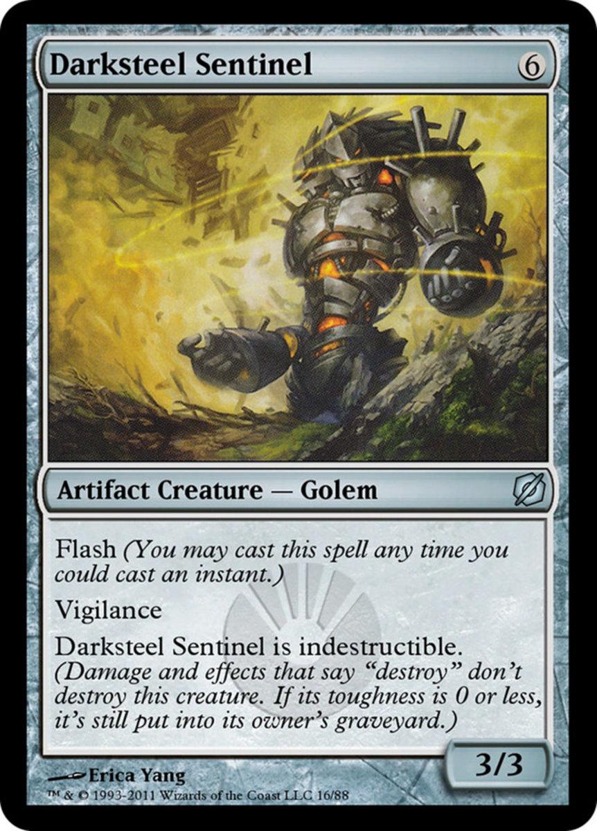 Darksteel Sentinel mtg