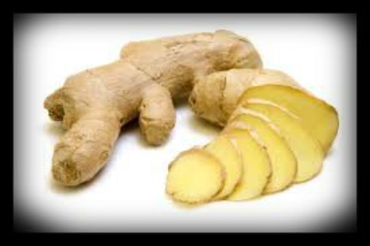 Ginger is a natural appetite suppressant and thermogentic fat blaster..