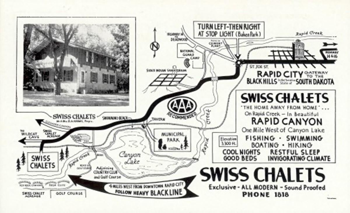 Back of vintage postcard