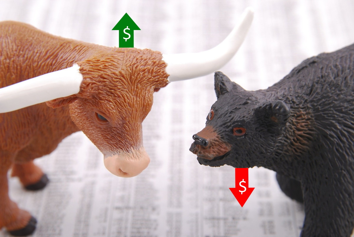 In a bull market, prices are expected to go up, while in a bear market, prices are expected to go down.