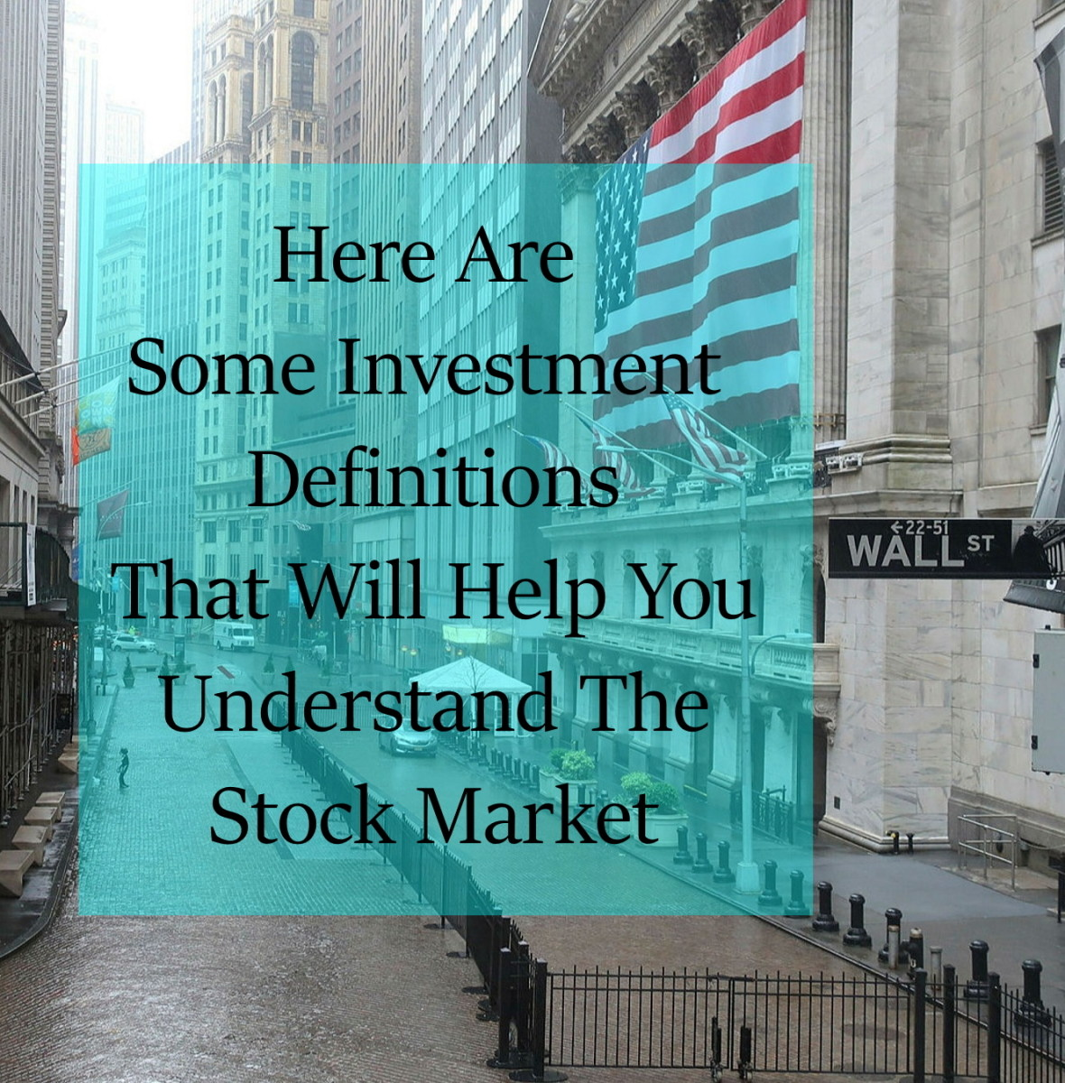 Stock Market Terms To Increase Your Knowledge