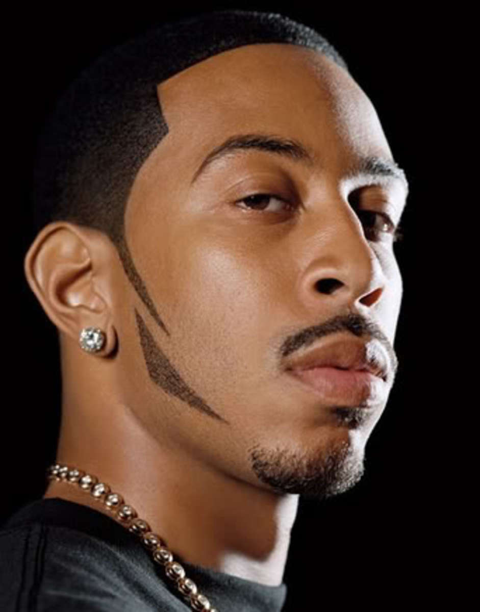 Ludacris cool buzz cut