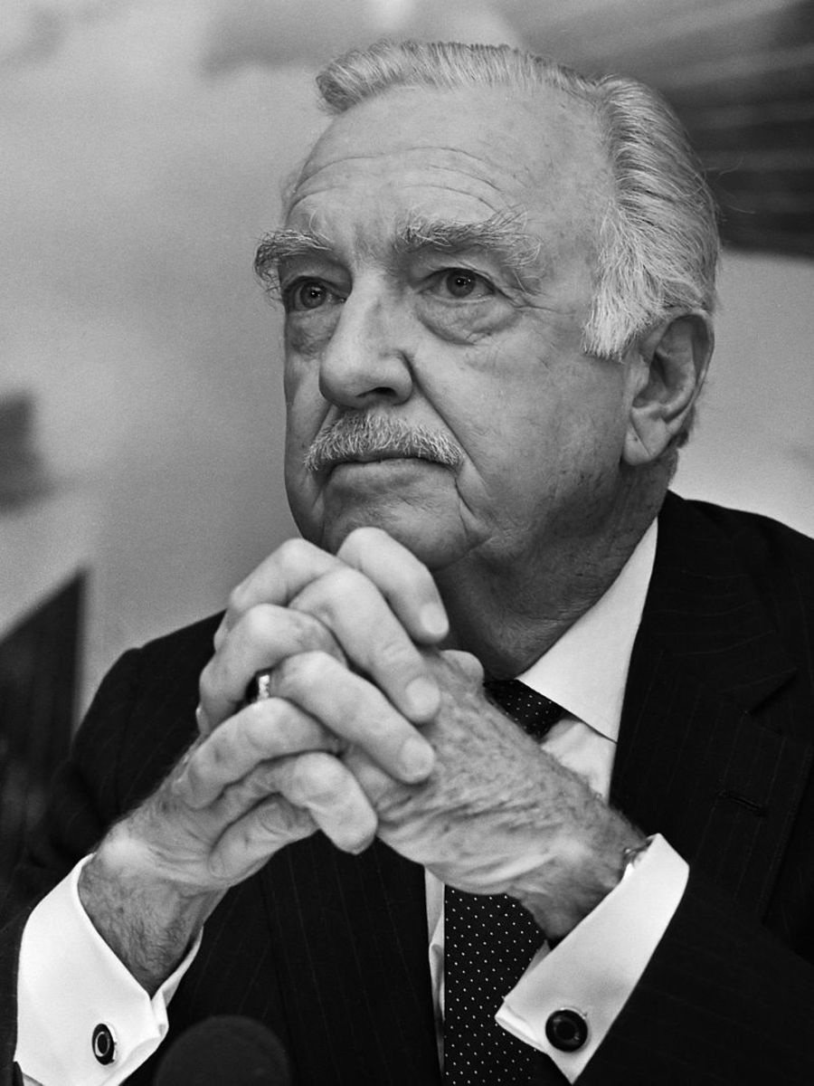 Walter Cronkite was considered one of America's most trusted journalist. Cronkite was the anchorman for the CBS news during the Vietnam war.