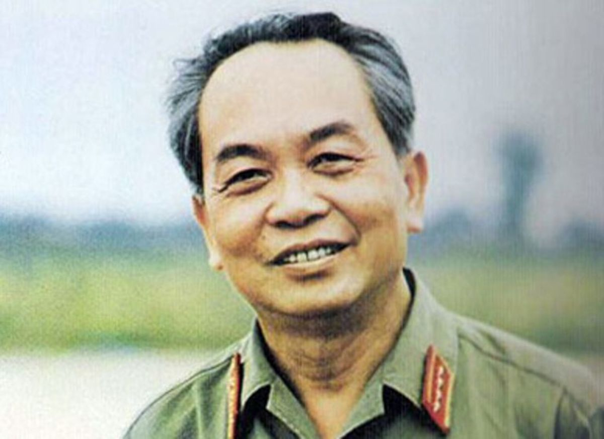 The North Vietnamese commander of Dien Bien Phu, general Vo Nguyen Giap. A former school teacher whose tactics would win the day for his Vietminh.