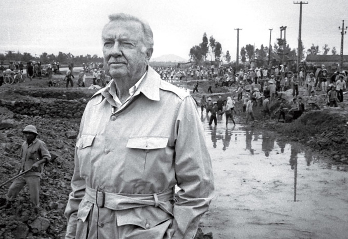 Cronkite would come out against the War Vietnam after the Tet Offensive on February 28, 1968 during his evening newscast. His endorsement would help bring down the Johnson administration in Washington D.C.