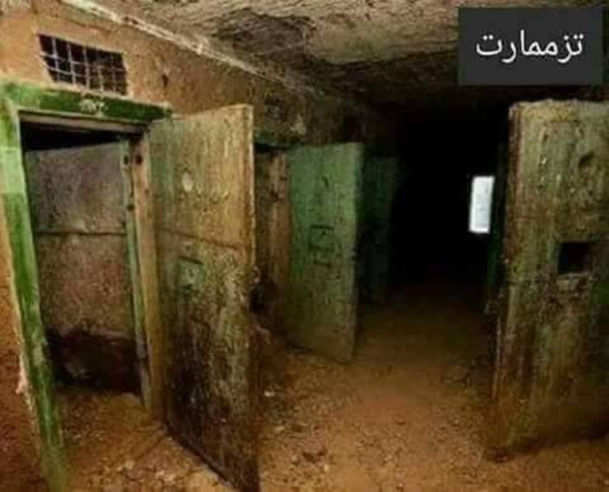 Tazamart Prison in Morocco was a place where many political prisoners died under the reign of King Hassan II.