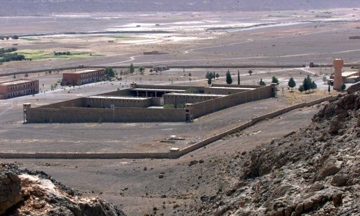 """""""Tazmamart was a purpose-built dungeon situated in the Atlas mountains, searing in the summer, freezing in the winter, cramped and hellish all year round."""" It is not known if this was the jail that the Oufkirs were in."""