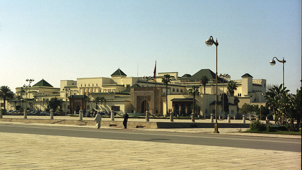 Dâr-al-Makhzen is the primary and official residence of the king of Morocco.