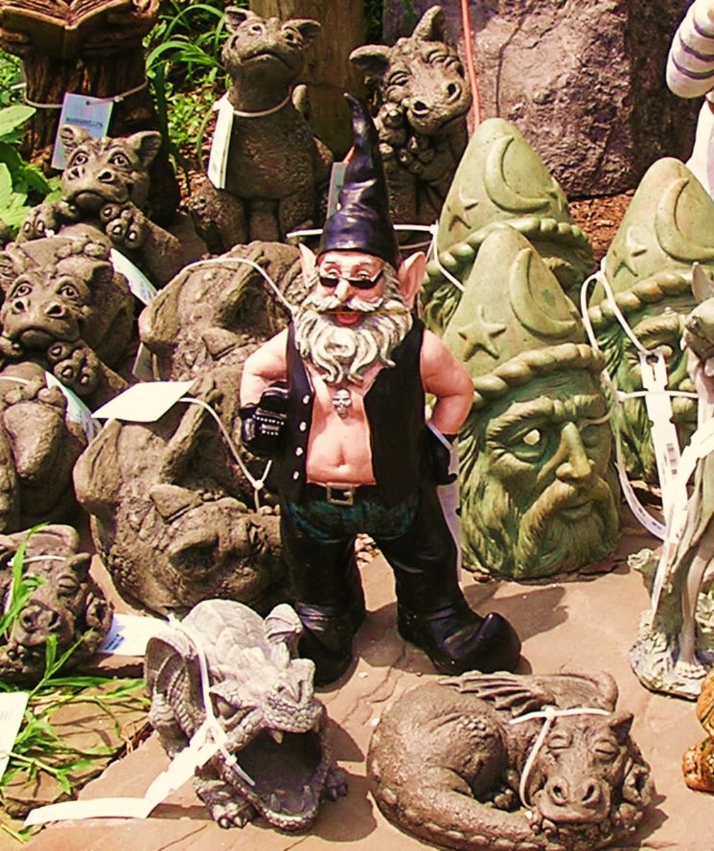 Garden Gnomes . . . what's in your garden?
