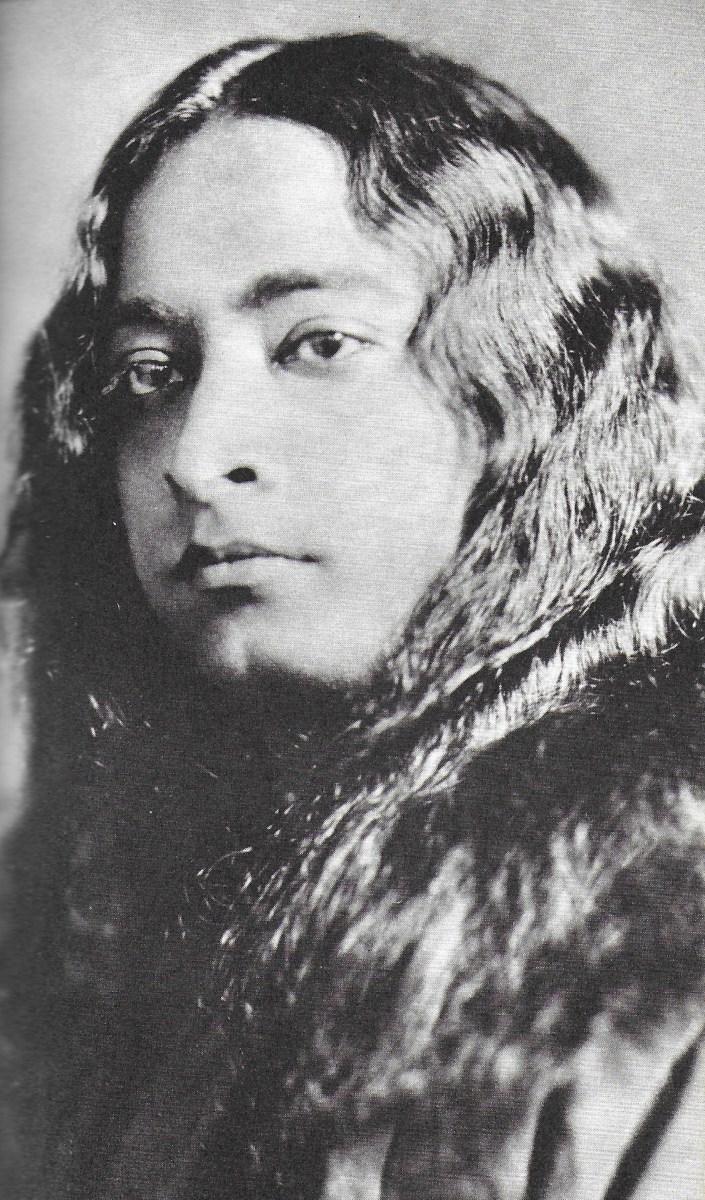 "Paramahansa Yogananda in New York City, 1926.  Photo accompanying poem, ""Make Us Thyself"" in ""Songs of the Soul"""